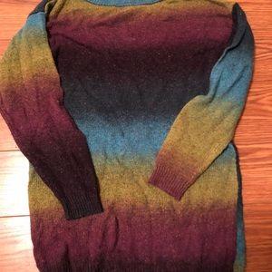 Purple/ Blue/ Green Sweater